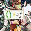 Силіконовий браслет відлякувач комах від комарів Anti Mosquito Band Purple 34320 різні кольори, фото 8