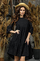 Летнее женское платье из прошвы 42-44,46-48