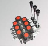 Джойстик на секционный гидрораспределитель PC100 механический, фото 5