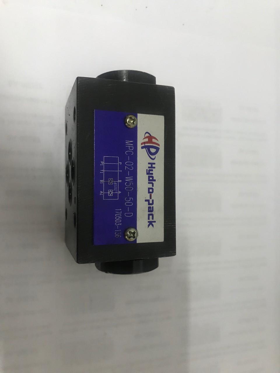 Гидрораспределитель соленоидный электромагнитный MPС-02W-50-50-D