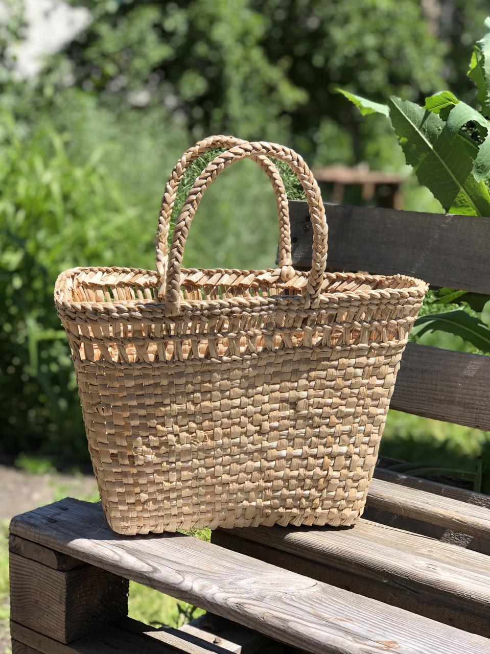 Соломенная сумка-корзина Zumba