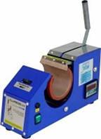 Термопресс для кружек с насадкой для тарелок(105 мм) SCHULZE Blue PRESS Line Mug