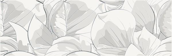 Плитка Opoczno /Flower Cemento White Inserto  24x74