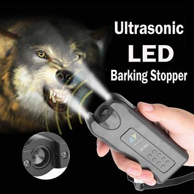 Ультразвуковой отпугиватель собак с фонариком ZF-851 dog reppeler