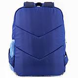 Рюкзак GoPack Сity 158-1 синій  44661, фото 4