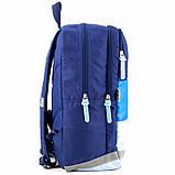 Рюкзак GoPack Сity 158-1 синій  44661, фото 5