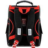Рюкзак школьный GoPack Education ортопедический ортопедический каркасный для первоклассника с ортопедической спинкой 5001-14 Super race |44600, фото 5
