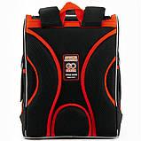 Рюкзак школьный GoPack Education ортопедический ортопедический каркасный для первоклассника с ортопедической спинкой 5001-14 Super race |44600, фото 6