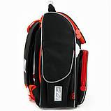 Рюкзак школьный GoPack Education ортопедический ортопедический каркасный для первоклассника с ортопедической спинкой 5001-14 Super race |44600, фото 9
