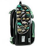 Рюкзак школьный GoPack Education ортопедический ортопедический каркасный для первоклассника с ортопедической спинкой 5001-12 Dinosaurs |44598, фото 9