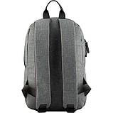 Рюкзак GoPack Сity 119S-1 серый  44625, фото 3