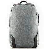 Рюкзак GoPack Сity 119S-1 серый  44625, фото 4
