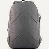 Рюкзак GoPack Сity 118-3 серый, оранжевый |44622, фото 4