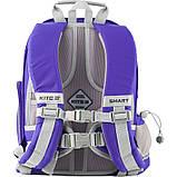 Рюкзак шкільний Kite Education 702 -3 Smart синій |39983, фото 7