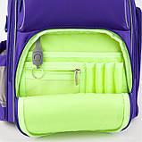 Рюкзак шкільний Kite Education 702 -3 Smart синій |39983, фото 9