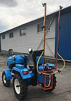 Опрыскиватель 80 литров для мотоблока и мототрактора (1т)