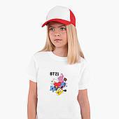 Футболка детская БТС (BTS) Белый (9224-1166)