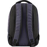 Рюкзак GoPack Сity 143-1 сірий |44633, фото 3