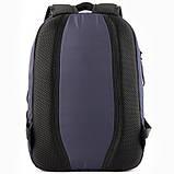 Рюкзак GoPack Сity 143-1 сірий |44633, фото 4