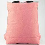 Рюкзак GoPack Сity 155-3 серо-розовый  44654, фото 5