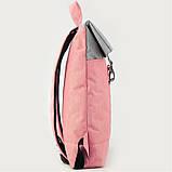 Рюкзак GoPack Сity 155-3 серо-розовый  44654, фото 6