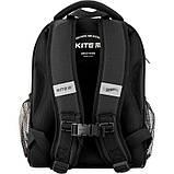 Рюкзак Kite Education для первоклассника с ортопедической спинкой каркасный  555 Хот Вилс Hot Wheels HW |44334, фото 4
