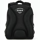 Рюкзак Kite Education для первоклассника с ортопедической спинкой каркасный  555 Хот Вилс Hot Wheels HW |44334, фото 5