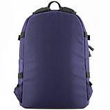 Рюкзак GoPack Сity 148-1 синий  44649, фото 4