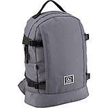 Рюкзак GoPack Сity 148-3 сірий |44651, фото 2