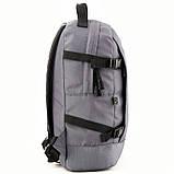 Рюкзак GoPack Сity 148-3 сірий |44651, фото 5