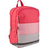 Рюкзак GoPack Сity 158-2 розовый  44662, фото 2