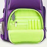 Рюкзак шкільний Kite Education 702-2 Smart фіолетовий  39982, фото 9
