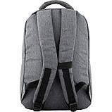 Рюкзак GoPack Сity 152-1 серый  44639, фото 3