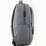 Рюкзак GoPack Сity 152-1 серый  44639, фото 5