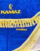 Шторки в кабину Камаз (лобовое стекло-1 и боковые-2). цвет синий
