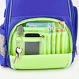 Рюкзак шкільний Kite Education 720-2 Smart синій |39987, фото 9