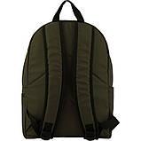 Рюкзак GoPack Сity 156-3 серо-зеленый |44658, фото 4