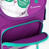 Рюкзак школьный Kite Education ортопедический ортопедический для первоклассника с ортопедической спинкой каркасный  для первоклассника с, фото 3