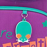 Рюкзак школьный Kite Education ортопедический ортопедический для первоклассника с ортопедической спинкой каркасный  для первоклассника с, фото 4