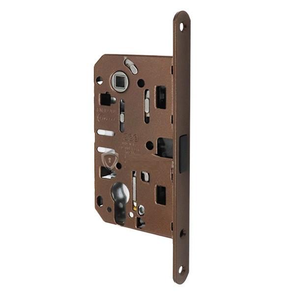 Магнитный механизм для дверей под цилиндр AGB Mediana Polaris XT бронза
