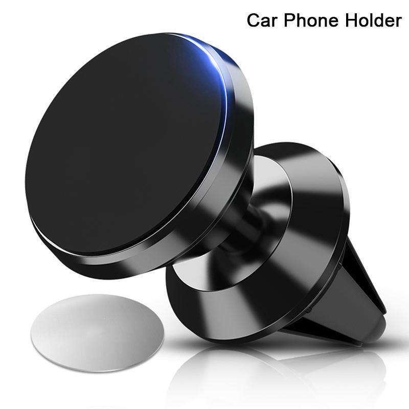 Автомобильный магнитный держатель для телефонаMount Holder (в воздуховод) Черный