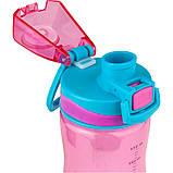 Бутылочка для воды, 650 мл., розовая  44143, фото 2