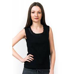 Майка женская черная Black Pearl (Турция) bp242415