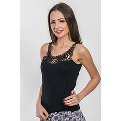 Майка женская черная Black Pearl (Турция) bp246015