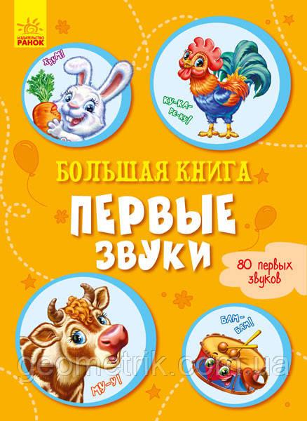 Большая книга. Первые звуки арт. А1244024Р ISBN 9789667498290