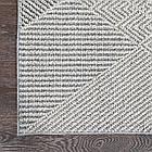 Коврик современный LINQ 8208A 1,5Х2,3 Светло-серый прямоугольник, фото 2