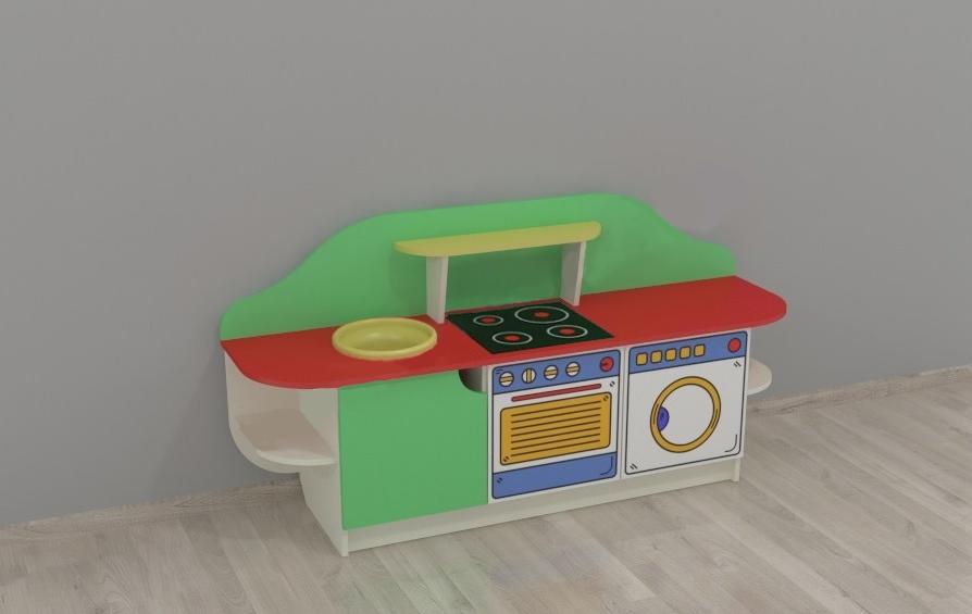 Детская игровая стенка Кухня Золушка №2. W353