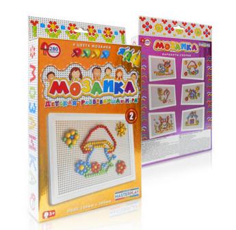 Мозаїка 1-009 Колорпласт, 280 деталей мозаика colorplast. pro
