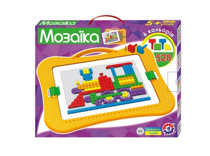Мозаїка для Малюків 8 ТехноК логика 528 фішок. pro