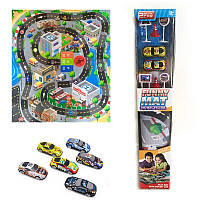 АвтоТрек игровой коврик RC888-3 гонки Rally машинки, дорожные знаки. pro